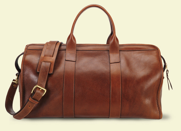 Similar leather duffel/weekend bag | Styleforum
