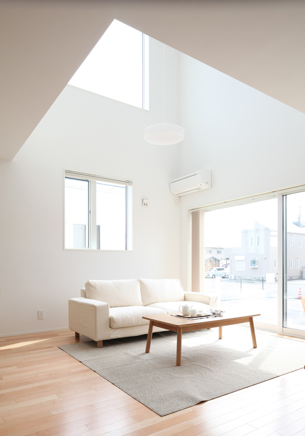 Living in the form of thinking muji home oen for Muji home design