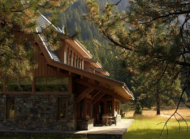North Cascade Mountain House By Finne Architects OEN