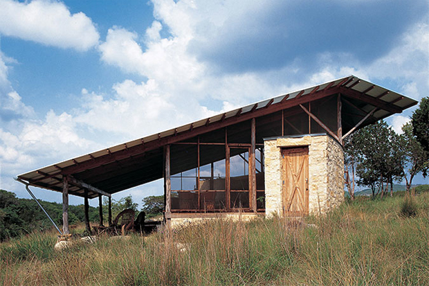 The Hill Country Jacal By Lake Flato Architects Oen