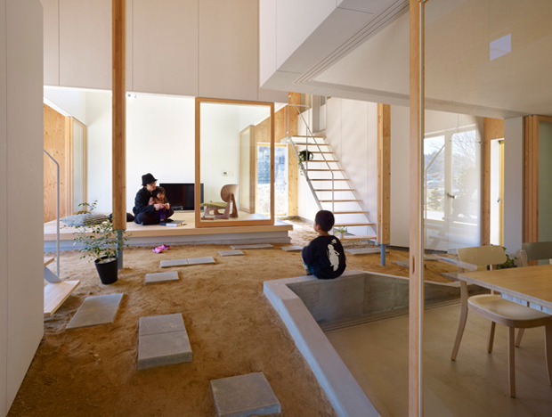 Hiroshima house from suppose design office oen for Office design japan