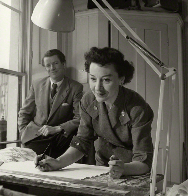 collection of work from robin lucienne day oen