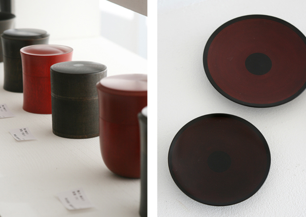 Photographs of Maiko Okuno&#039;s Lacquerware Exhibition 1