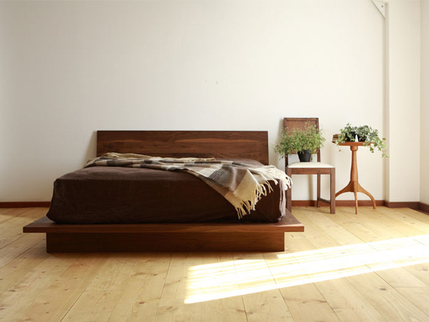 Interior pieces by hiromatsu furniture inc oen - Japanese bed frame designs ...