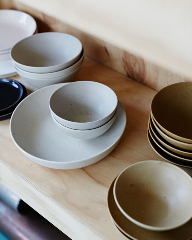 Functional Objects By Bruce Rowe Of Anchor Ceramics Oen