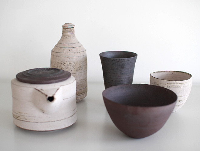 New Maker - Japanese Potter Akihiro Nikaido at OEN Shop 1