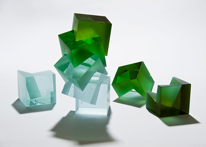 Colour,-Form-and-Light---Solid-Transparent-Glass-Sculpture-by-Heike-Brachlow-1