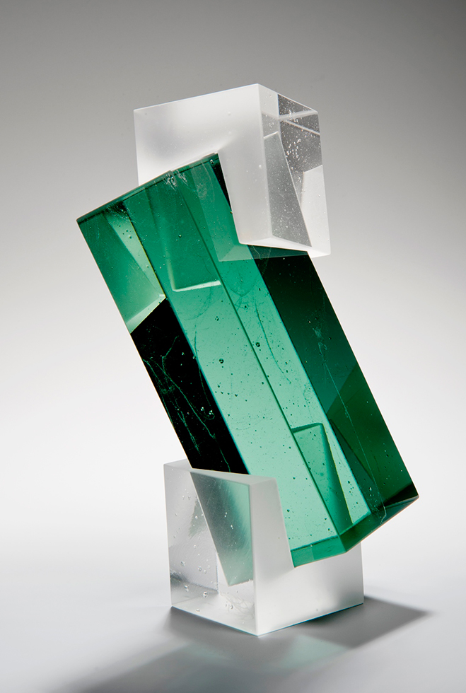 Colour,-Form-and-Light---Solid-Transparent-Glass-Sculpture-by-Heike-Brachlow-5