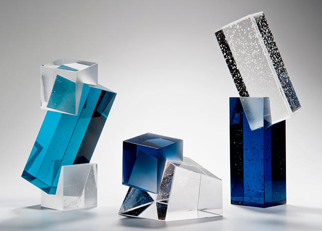 Colour,-Form-and-Light---Solid-Transparent-Glass-Sculpture-by-Heike-Brachlow-7