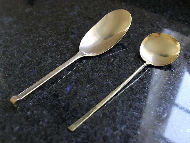 Brass Spoons and Dishes by Ruka Kikuchi of Lue Brass 3