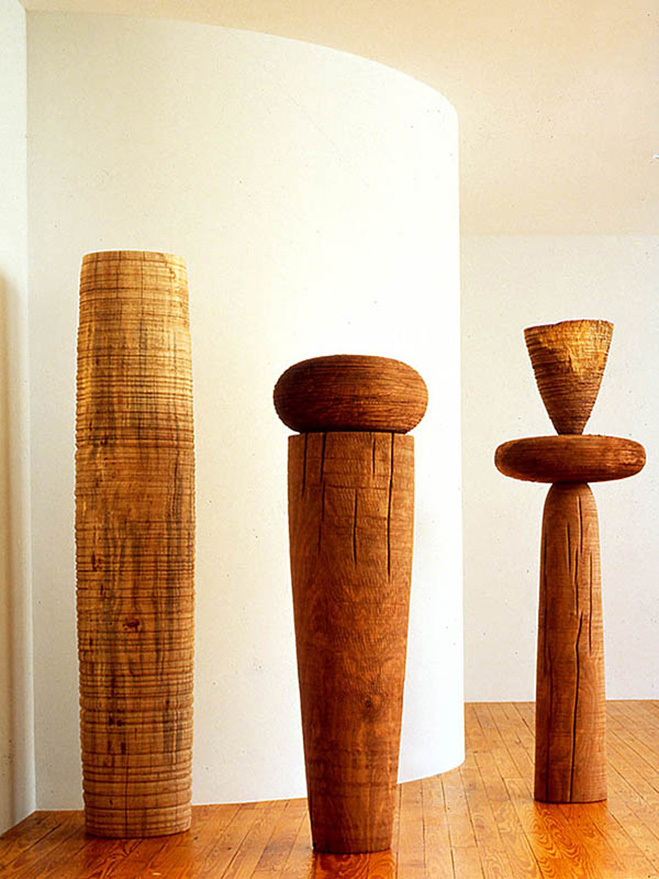 Ichiboku-&-Totemic-Series---Wooden-Sculptures-by-Mark-Lindquist-7