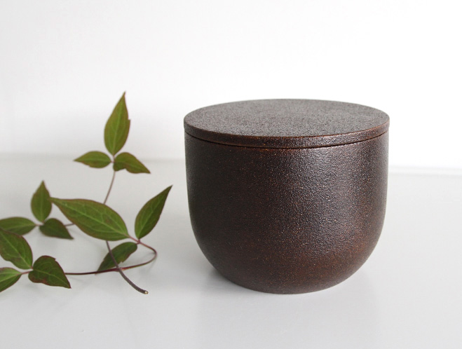 Tea Containers & Lacquer Dishes - Wooden Objects by Fujii Works 1