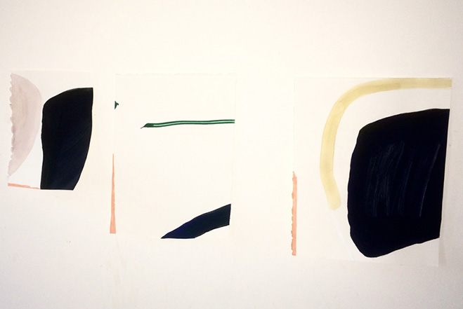 Interaction on the Surface – Works by Swiss Painter Rosemarie Auberson 1