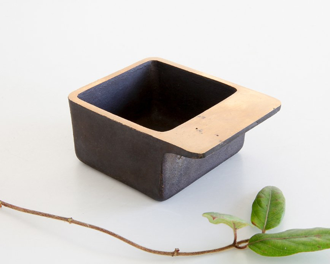 Square Ashtray by Carl Aubock at OEN Shop