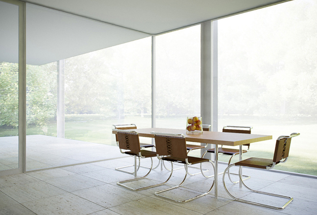 farnsworth house by ludwig mies van der rohe oen. Black Bedroom Furniture Sets. Home Design Ideas