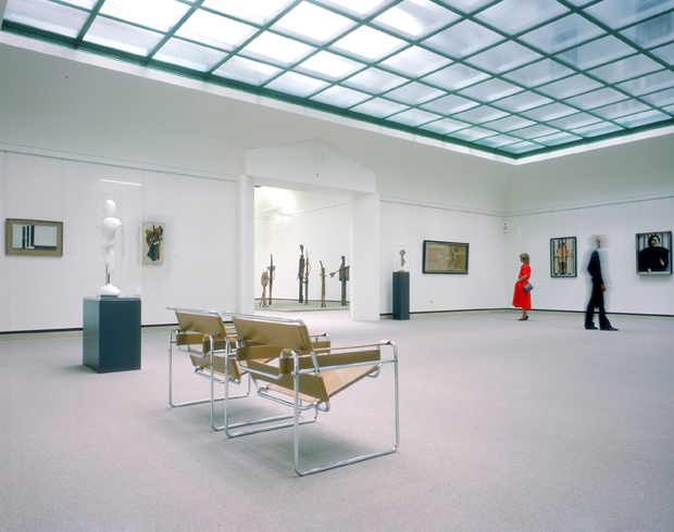 Wassily Chairs Take Centre Stage In The Art Gallery.