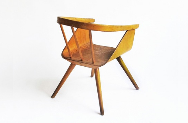 Bent Plywood Chair An Exhibition of Children's Chairs, Mondo Cane and ...