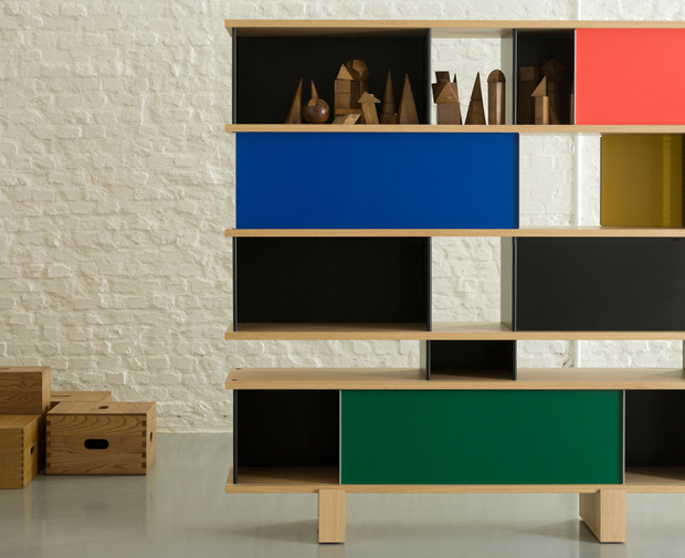 the nuage family for cassina by charlotte perriand oen. Black Bedroom Furniture Sets. Home Design Ideas