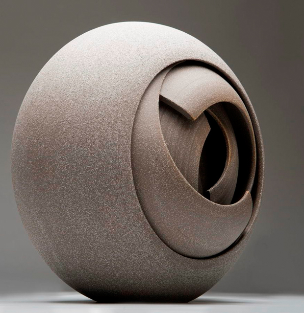 Circular Ceramic Sculptures By Matthew Chambers Oen