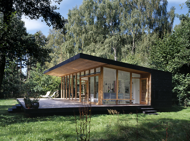 Danish Summer House Design: Asserbo House By Christensen & Co Architects