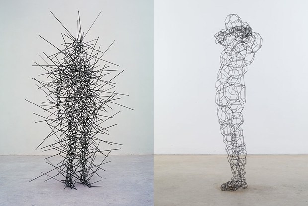 shop ceiling material ideas - Series of Sculptures by Antony Gormley