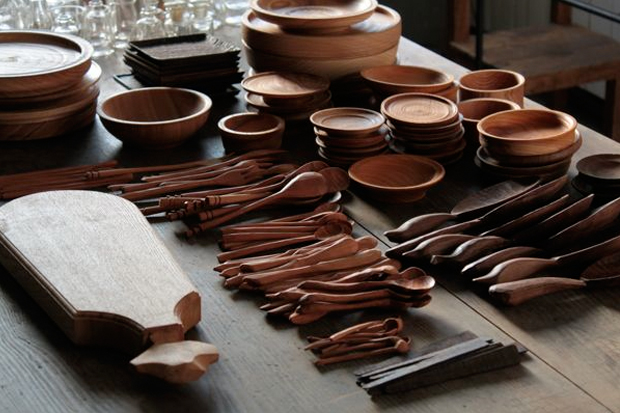 Wooden Tableware and Sundries at Manufact Jam & Wooden Tableware and Sundries at Manufact Jam | OEN
