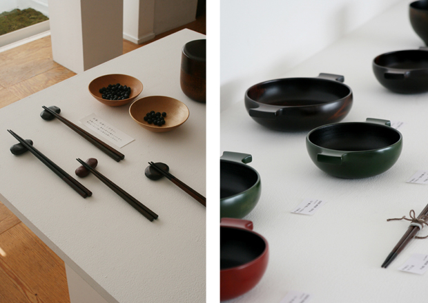 Photographs of Maiko Okuno's Lacquerware Exhibition 2