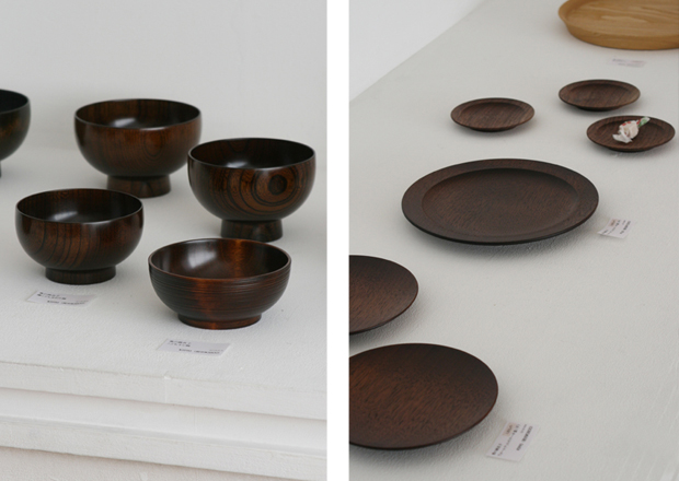 Photographs of Maiko Okuno's Lacquerware Exhibition 3