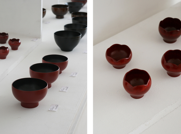 Photographs of Maiko Okuno's Lacquerware Exhibition 4