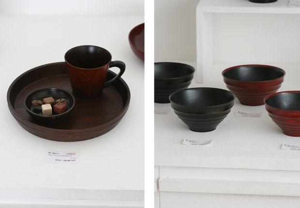 Photographs of Maiko Okuno's Lacquerware Exhibition 6