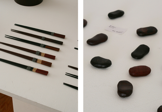 Photographs of Maiko Okuno's Lacquerware Exhibition 7