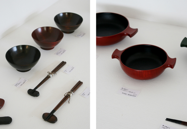 Photographs of Maiko Okuno's Lacquerware Exhibition 8