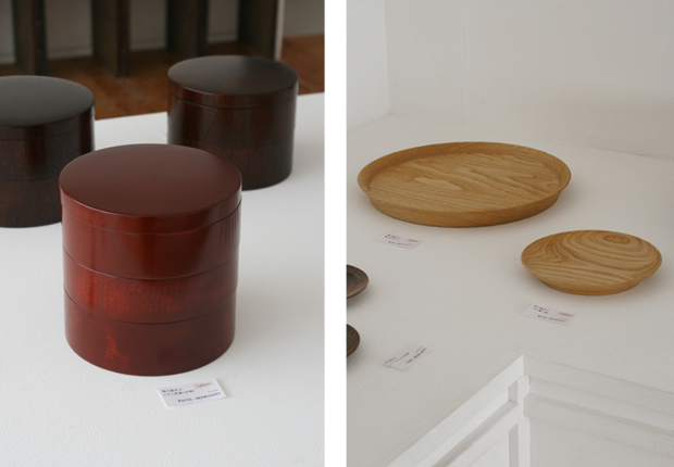 Photographs of Maiko Okuno's Lacquerware Exhibition 9