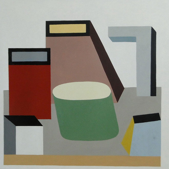 Paintings by Nathalie Du Pasquier 3