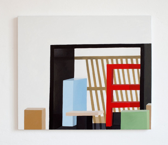 Paintings by Nathalie Du Pasquier 6