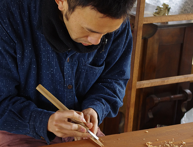 Woodwork-by-Tomokazu-Furui-at-OEN-Shop-1