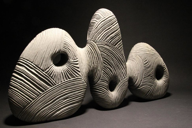 contemporary sculpture by thierry martenon
