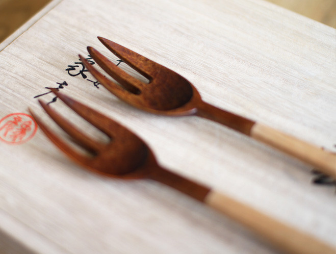 Handmade Utensils by Taisuke Hirabayashi at OEN Shop 2