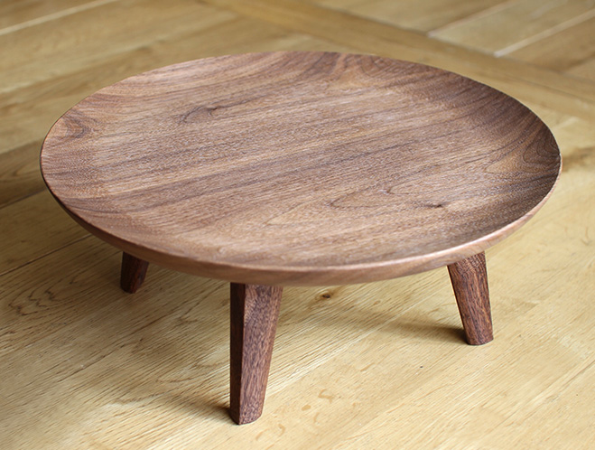 Captivating Walnut And Cherry Zabon Tables By Tomokazu Furui At OEN Shop