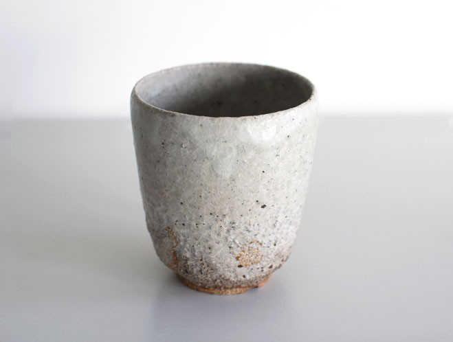 Back In at OEN Shop - Stoneware Water Cup by Swedish Potter Stefan Andersson 1
