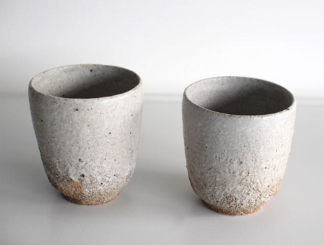 Back In at OEN Shop - Stoneware Water Cup by Swedish Potter Stefan Andersson 3