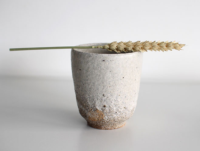 Back In at OEN Shop - Stoneware Water Cup by Swedish Potter Stefan Andersson 5