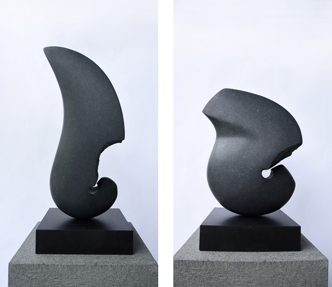 Transforming-Nature---Black-Granite-Sculptures-by-Masaomi-Raku-2