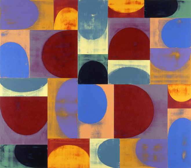 gridded repetition  u2013 paintings by american aritst and