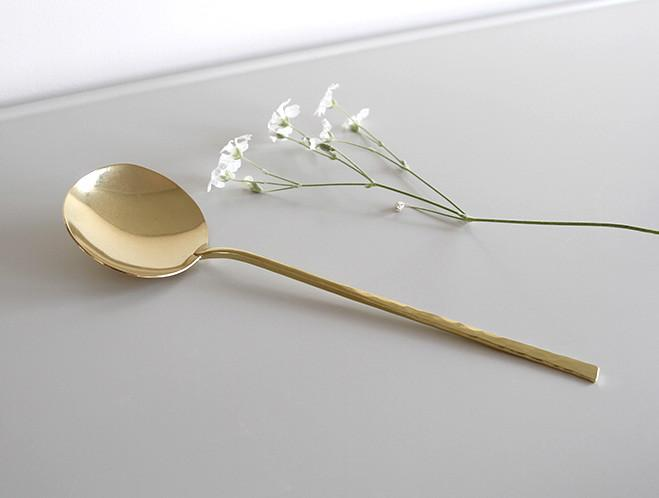 Brass Spoons and Dishes by Ruka Kikuchi of Lue Brass 5