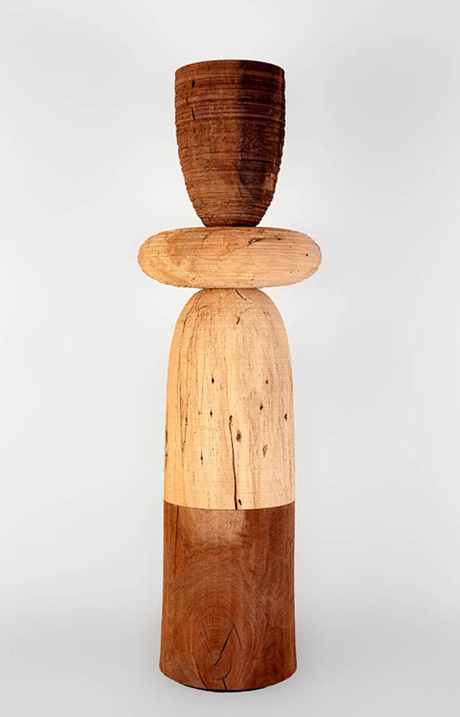 Ichiboku-&-Totemic-Series---Wooden-Sculptures-by-Mark-Lindquist-6