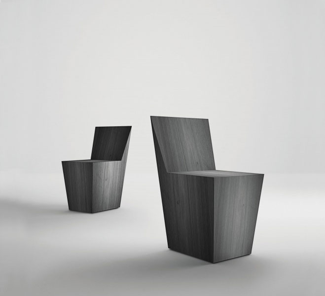 Monochromatic Elements Furniture By Italian Company